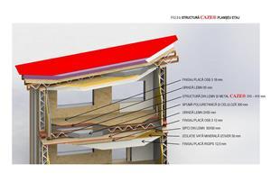 Sistem pentru constructii cu energie ZERO tip CAZE - imagine 9