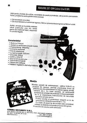 Vand pistol cu bile din cauciuc pentru autoaparare - imagine 3