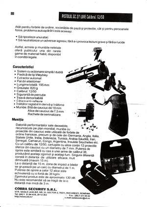 Vand pistol cu bile din cauciuc pentru autoaparare - imagine 2