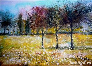 Tablouri cu peisaje flori - imagine 7