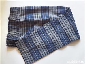 Pantaloni cadrilati mar M - imagine 1