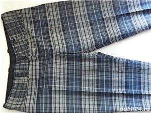Pantaloni cadrilati mar M - imagine 4