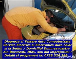 Diagnoza Citroen Peugeot Renault testare cu tester dedicat service rapid electrica auto la domiciliu - imagine 4
