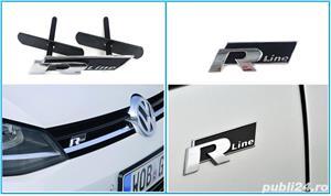 Emblema R Line grila fata sau spate VW - imagine 1