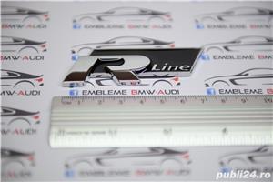 Emblema R Line grila fata sau spate VW - imagine 6