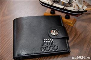 Portofel piele Audi Nou !  - imagine 1