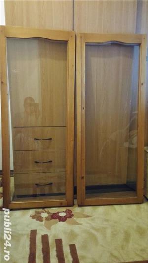 Rame din lemn de brad, cu sticla float-reflexiv, low-e - imagine 4
