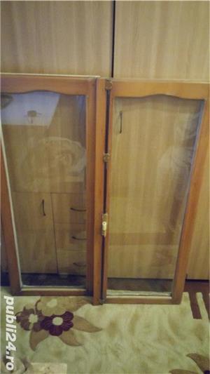 Rame din lemn de brad, cu sticla float-reflexiv, low-e - imagine 1