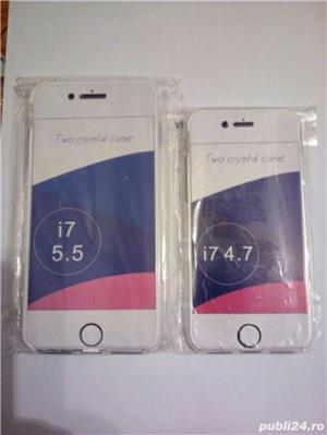 Vand husa silicon iphone 360°fata+spate - imagine 7