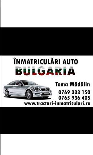 Inmatriculari Auto in Bulgaria, rapid si ieftin! - imagine 2