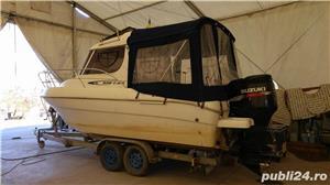 Barca Mano Marine Pilot 21 + motor 300 CP + peridoc - imagine 1