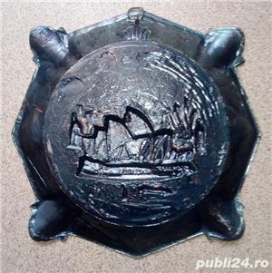 Placheta in relief, aplica bronz tema Australia Harbor Bridge & Opera - imagine 3
