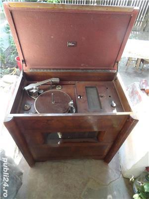 Radio pe lampi cu pickup(patefon) Marconi 344 - imagine 2