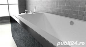 cada baie dreptunghiulara 190x90 cm  - imagine 2