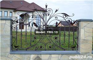Fier forjat,profile amprentate,laminate-lis, accesori porti, garduri - imagine 6
