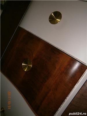 Sifonier vechi din lemn, reconditionat, alb (Mobila/Dulap/stil Art Deco) - imagine 8