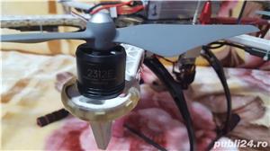 Drona DJI F550 cu telecomanda iOSD FPV GPS gimbal pentru GOPRO 3 sau 4 telecomanda baterii FULL - imagine 3
