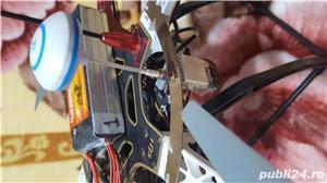 Drona DJI F550 cu telecomanda iOSD FPV GPS gimbal pentru GOPRO 3 sau 4 telecomanda baterii FULL - imagine 4