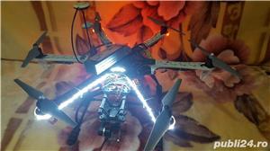 Drona DJI F550 cu telecomanda iOSD FPV GPS gimbal pentru GOPRO 3 sau 4 telecomanda baterii FULL - imagine 1