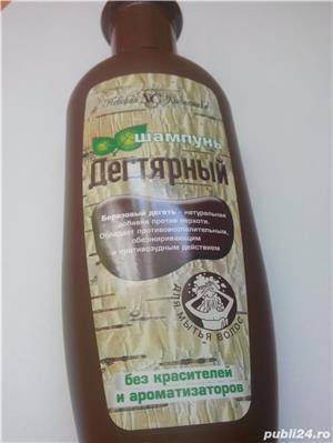 Sampon / gel dus cu gudron de carbune rusesc pt. psoriazis si matreata - imagine 4