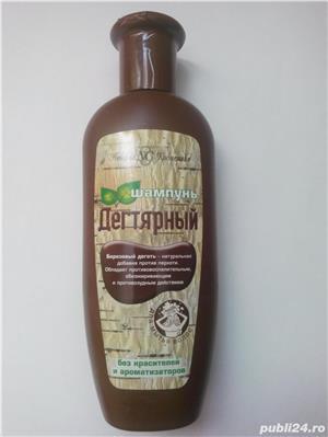 Sampon / gel dus cu gudron de carbune rusesc pt. psoriazis si matreata - imagine 1