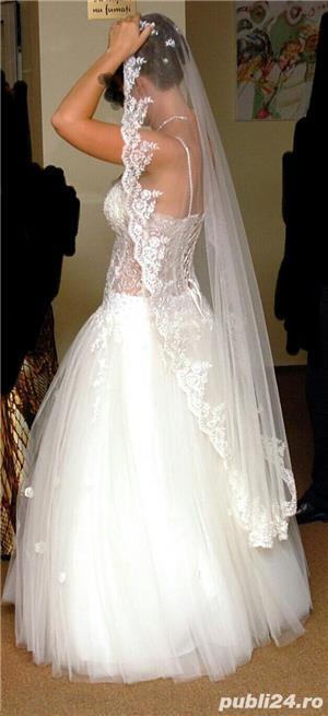 rochie de mireasa  - imagine 5