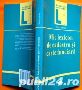 Mic lexicon de Cadastru si Carte Funciara, Mircea Miclea, 2000 - imagine 1