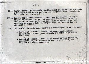 """""""Ghid pentru intocmirea autobiografiei"""" (document comunist) - imagine 2"""