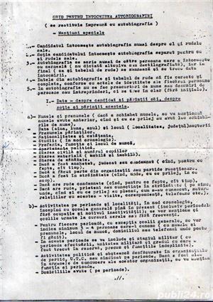 """""""Ghid pentru intocmirea autobiografiei"""" (document comunist) - imagine 1"""