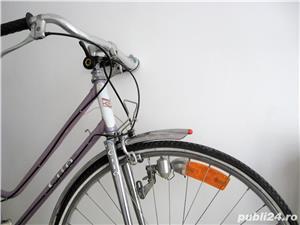 Bicicleta cursiera de dama elvetiana - imagine 4