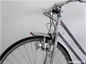 Bicicleta cursiera de dama elvetiana - imagine 5