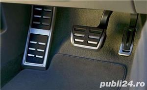 Ornamente / protectii pedale si footrest S-Line - Audi A4 B8 - imagine 3