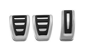 Ornamente / protectii pedale si footrest S-Line - Audi A4 B8 - imagine 5