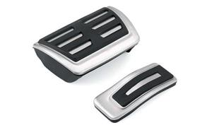 Ornamente / protectii pedale si footrest S-Line - Audi A4 B8 - imagine 6