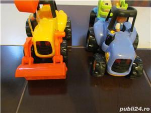 Tractor si Buldozer FISHER PRICE;ELC - imagine 1