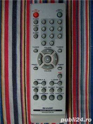 Telecomanda SHARP diverse modele pt.combina audio,sisteme audio - imagine 4