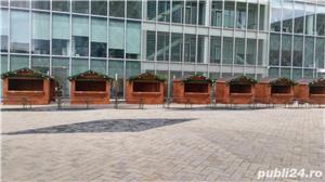 Casute de lemn pentru targuri, Chioscuri comerciale din lemn, Tonete din lemn - imagine 2