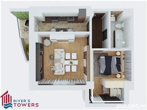 Apartament 2 camere decomandat, bloc nou, Tudor Vladimirescu - imagine 10