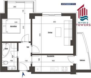Apartament 2 camere decomandat, bloc nou, Tudor Vladimirescu - imagine 11