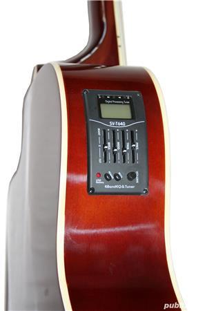 Set complet Chitara Electro-Acustica Santander  - imagine 3