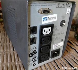 UPS APC Smart SC 620VA, f ieftin, are AVR, cu sau fara acumulator nou.  - imagine 2