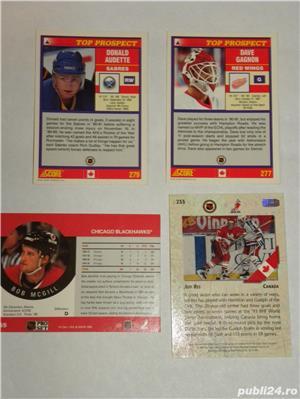 Carduri sport de colectie (Hockey Cards)-NHL (made in SUA) - imagine 7