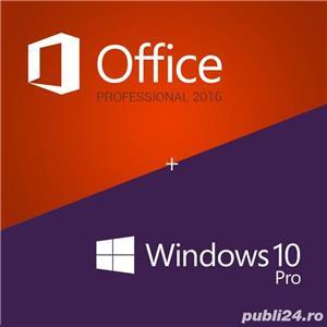 Instalare/reinstalare Windows (10, 8, 7), Office (2019, 2016), licente 100% originale Microsoft - imagine 1