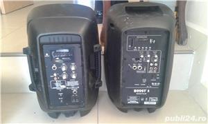 boxa activa 500w cu intrare auxiliar laptop, mobil, cd,ipod, etc ideal pentru sonorizari evenimente - imagine 9
