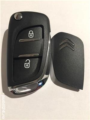 carcasa cheie Peugeot  508  308  207 307 407 - imagine 2