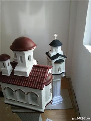 biserica in miniatura, figurine beton, amenajari exterior - imagine 6