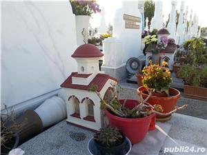 biserica in miniatura, figurine beton, amenajari exterior - imagine 1