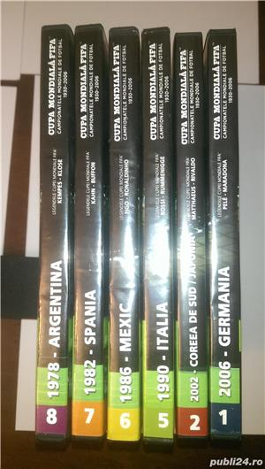 "Vand 6 DVD-uri originale ""Istoria Campionatelor Mondiale de Fotbal  - imagine 6"