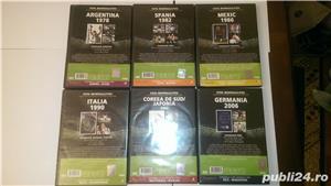 "Vand 6 DVD-uri originale ""Istoria Campionatelor Mondiale de Fotbal  - imagine 3"