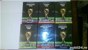 "Vand 6 DVD-uri originale ""Istoria Campionatelor Mondiale de Fotbal  - imagine 2"